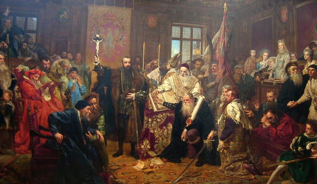 Uczta z czasów Unii Lubelskiej